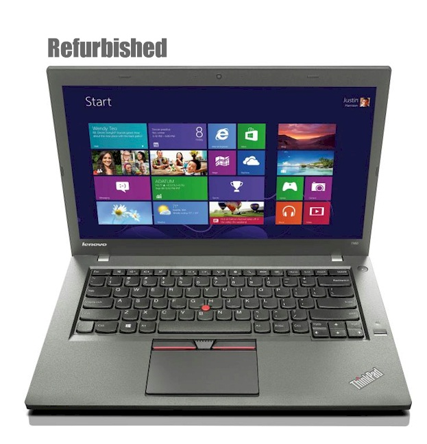 """Refurbished Lenovo T450 14"""" Notebook"""